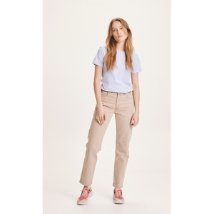 Straight Twill Pants STELLA - NUANCE BY NATURE - KnowledgeCotton Apparel