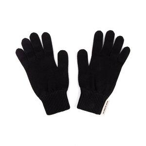 Ecoknit Handschuhe Schwarz - bleed