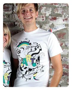 Arts Männer T-Shirt - Trusted Fair Trade Clothing