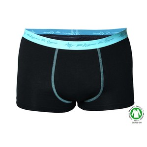 4er Pack Herren Retro Pants schwarz mint Highlight - 108 Degrees