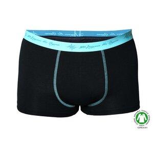 2er Pack Herren Retro Pants schwarz mint Highlight - 108 Degrees