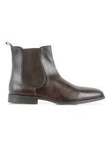 Chelsea Boots Dark brown - WILLS LONDON