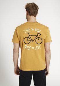 Herren T-Shirt AGAVE aus Baumwolle (Bio) | Casual T-Shirt #LIVETORIDE - recolution