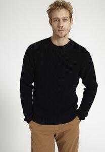 Herren Strickpullover aus Baumwolle (Bio)   Crewneck SAFFRON - recolution