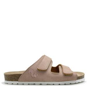 """Vegane """"thies ® Eco Bio Velcro Sandale"""" fair produziert mit Kork-Tieffussbett - thies"""