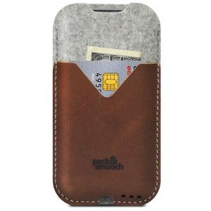 iPhone 6 Plus Hülle KIRKBY Grau/Hellbraun  - Pack & Smooch