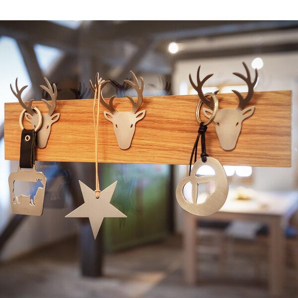 designimdorf schmuckbrett schl sselbrett garderobe deer hook avocadostore. Black Bedroom Furniture Sets. Home Design Ideas