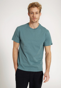 Herren T-Shirt aus weicher Baumwolle (Bio)   Basic T-Shirt AGAVE - recolution