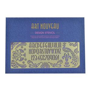 ART NOUVEAU - Design Schablone / Zeichnungsvorlage - another studio