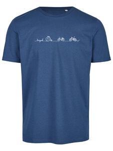 Basic Bio T-Shirt (men) Nr.3 Bicycle Line - Brandless