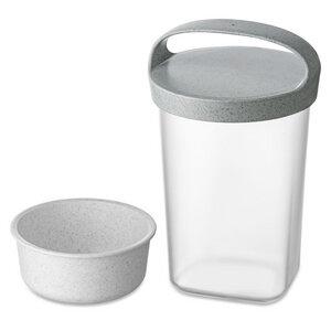 Snackpot BUDDY 0,7 mit Einsatz und Deckel 700ml - Koziol
