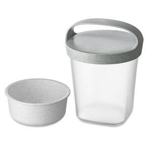 Snackpot BUDDY 0,5 mit Einsatz und Deckel 500ml - Koziol