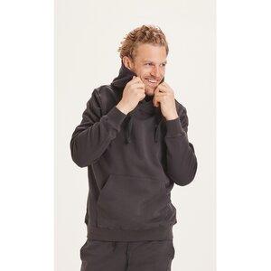 Kapuzenpullover - Elm Hood Basic Badge Sweat GOTS Vegan - KnowledgeCotton Apparel