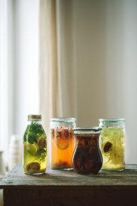 Bio Wasserkefir Drink mit Japankristallen (mittel) - Wellness-Drinks