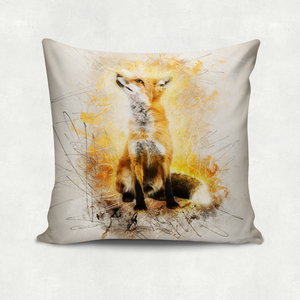 'Fox on fire', Kissenbezug - What about Tee