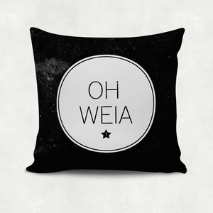 'Oh weia', Kissenbezug - What about Tee