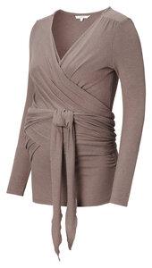 Wickelsweatshirt mit Stillfunktion Loungewear - Noppies