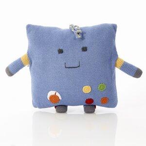 Friendly Roboter Kissen - Pebble