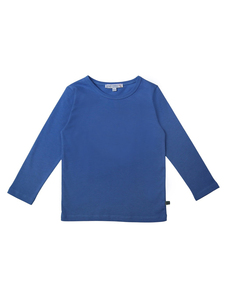 Kinder Langarm-Shirt unifarben reine Bio-Baumwolle - Enfant Terrible