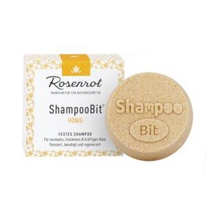 festes Shampoo Honig - 60g - Rosenrot Naturkosmetik