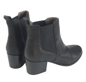 Jonna, klassische Boots, vegetabil gegerbtes Leder - Ten Points