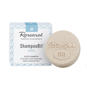 festes Shampoo Kokos - 60g - Rosenrot Naturkosmetik