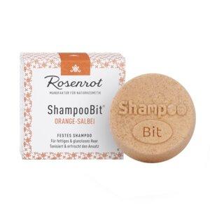 festes Shampoo Orangen-Salbei - 60g - Rosenrot Naturkosmetik