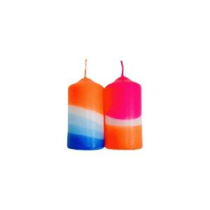 Dip Dye Kerzen 2er Set - Just Be