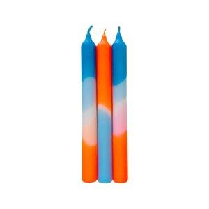 Dip Dye Kerzen 3er Set - Just Be