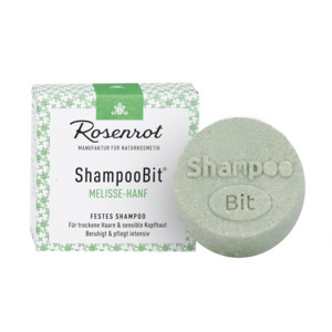 festes Shampoo Melisse-Hanf - 60g - Rosenrot Naturkosmetik