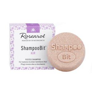 festes Shampoo Kur - 60g - Rosenrot Naturkosmetik