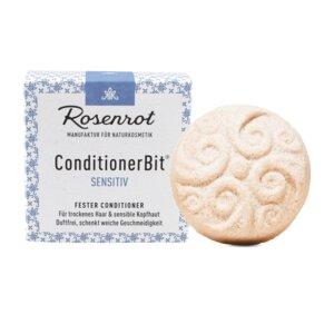 fester Conditioner allergenfrei | in Schachtel 60g - Rosenrot Naturkosmetik
