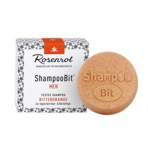festes Shampoo MEN Bitterorange - 60g - Rosenrot Naturkosmetik