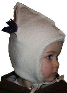 Warme Babymütze aus Bio-Wollwalk - Pickapooh