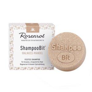 festes Shampoo Walnuss-Mandel - 60g - Rosenrot Naturkosmetik