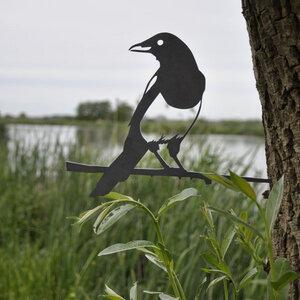 Elster - Metall Vogel im Garten - MoreThanHip