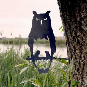 Eule - Metall Vogel im Garten - MoreThanHip