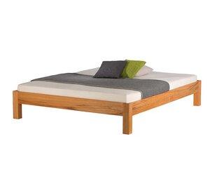 Massivholz Bett Bettgestell RION - Holzmanufaktur