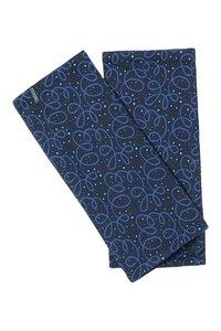 Jersey-Stulpen aus Biobaumwolle mit Muster in verschiedenen Farben - TRANQUILLO