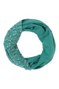 Loop-Schal aus Biobaumwolle mit Muster in verschiedenen Farben - TRANQUILLO