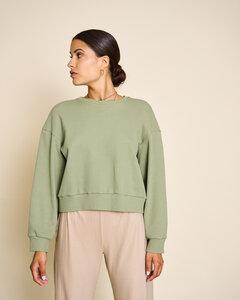 Pullover TOMME aus Rippstoff - JAN N JUNE
