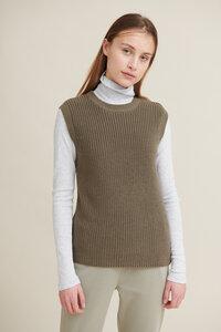 Pullunder Vegan - Sweety vest - aus Bio-Baumwolle - Basic Apparel