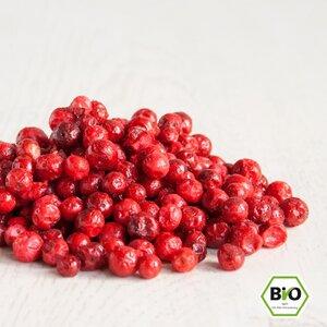 Preiselbeeren BIO – gefriergetrocknet - 100g - RezeptGewürze
