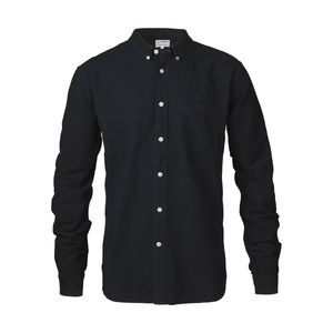 Button Down Oxford Shirt - Total Eclipse - KnowledgeCotton Apparel