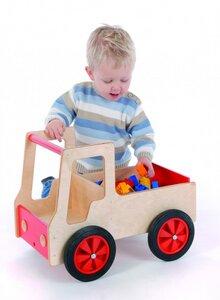 Lastauto für kleine Unternehmer -  aus massivem Buchenholz - Bätz Holzspielwaren