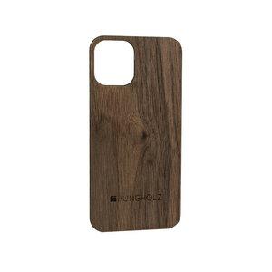"Handyhülle aus Holz ""WoodCover iPhone 12"", Eiche, Walnuss oder Padouk - JUNGHOLZ Design"