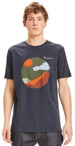 T-Shirt - ALDER landscape printed tee - aus Bio-Baumwolle - KnowledgeCotton Apparel