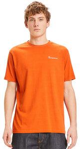 T-Shirt - ALDER owl sunset printed tee - aus Bio-Baumwolle - KnowledgeCotton Apparel