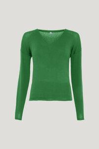 V-Neck Pullover für Damen - Sophie - Lana natural wear