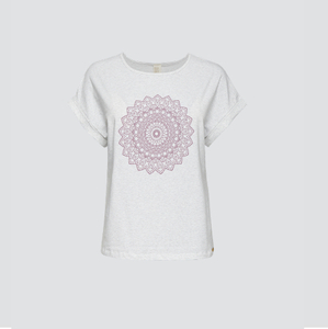 Fairtrade Yoga Shirt mit Motivdruck - comazo|earth